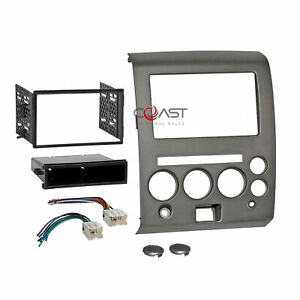 Car Radio Stereo Dash Kit Harness For 2006 07 Nissan Armada Titan W Climate