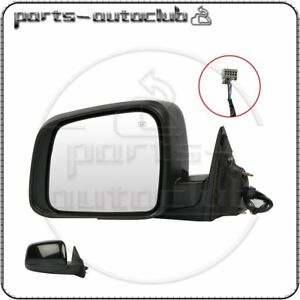 For 2011 2018 Jeep Grand Cherokee Left Side Mirror Black Fold Power Heated