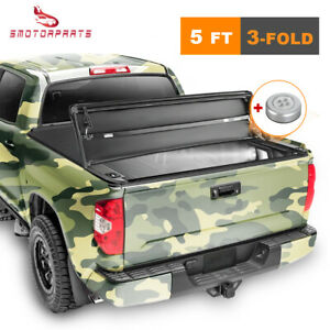 5ft Truck Bed Tonneau Cover For Ford Ranger 2019 2020 Tri Fold