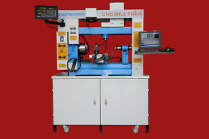 2019 Shopmaster Mill Turn Cnc Lathe And Mill