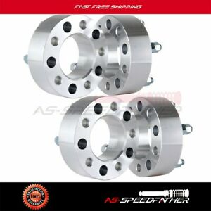 4pcs 2 Jeep 5x5 Wheel Spacers Adapters Fits Wrangler Grand Cherokee Jk Offroad