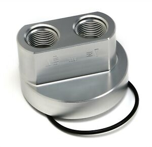Trans dapt Performance 3321 Oil Filter Bypass Adapter Spin on 3 3 16 id