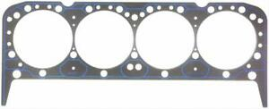 Two 2 Fel Pro Head Gaskets Composition Type 4 200 Bore 039 Comp Sbc