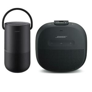 Bose Home SpeakerTriple Black With Bose SoundLink Micro Bluetooth SpeakerBlack