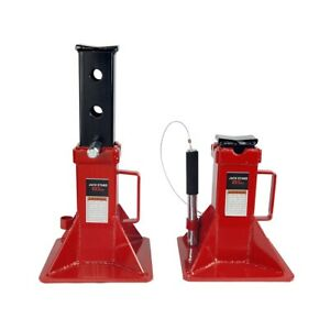 22 Ton Jack Stands Capacity Auto Truck Suv Rv Trailer Pin Lock Style Set Of 2