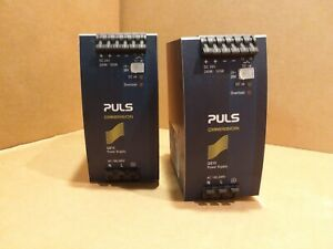 Puls Power Supply Qs10 241 100 240v Ac In 24 V Dc Out Lot Of 2