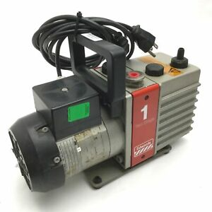 Edwards High Vacuum Md56lx2 a Vacuum Pump Two Stage 110 120lv 50 60hz Ip 54