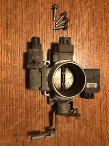 Oem Jeep Wrangler Tj 2 5l 4 Cylinder Throttle Body 98 02 Sensors Map Sensor 1999