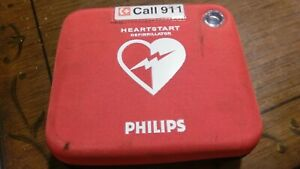 Philips Heartstart Defibrillator Frx Aed Hs1 Free Shipping With Case