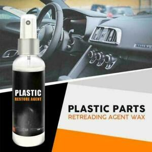 Car Home Plastic Parts Retreading Restore Agent Wax Instruments Panel Reducing