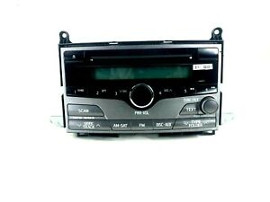 09 13 Toyota Venza Radio Receiver Cd Player 86120 0t010 Oem a51869