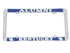 University Of Kentucky Alumni Raised Letters Chrome License Plate Frame