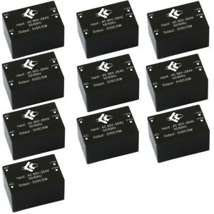 10pc Ac dc Isolated Power Ac220v To 5v Smart Home Switch Step down Supply Module