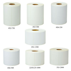 Direct Thermal Shipping Paper Labels Tape For Zebra Gk420t Gx420t Gx430t Gx430t