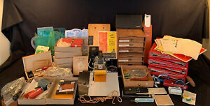 Huge Lot Kingsley Hot Foil Stamping M 60 Machine With Foil Accessories Works