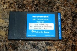 Vetronix Domestic Program Card For Mastertech Mts3100 Scan Tool