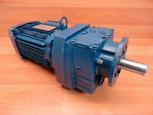 Sew Eurodrive Rf47 Drn80m4 Electric Motor 3 Ph 87 7435852801 0002 17 50