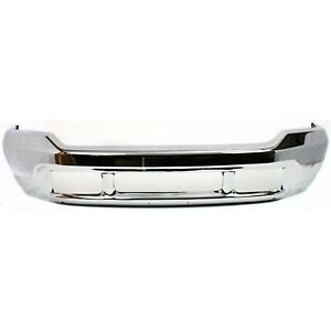 New Front Bumper Face Bar Chrome For Ford F 250 Super Duty Fo1002374 1999 2004
