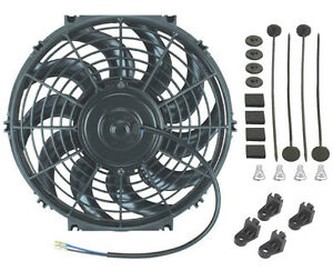 11 12 Inch Electric Engine Radiator Cooling Fan 12v High Performance Car Truck