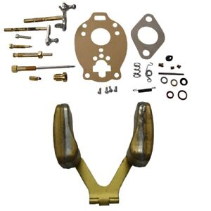Marvel Schebler Complete Carburetor Kit W Float Fits Ford 8n 2n 9n Tractors