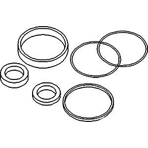 3314663m91 Power Steering Cylinder Seal Kit Fits Massey Ferguson 135 Tractors