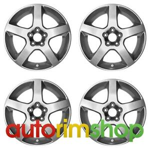 Volvo S60 S80 V70 Xc70 1998 2011 17 Factory Oem Wheels Rims Set Canicula