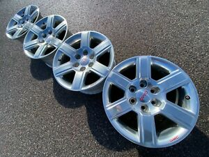 18 Chevrolet Silverado Z71 Gmc Suburban Tahoe 4x4 Oem Factory Stock Wheels Rims
