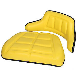 Wrap around Seat Backrest Bottom Cushion Set Fits John Deere Wkyl