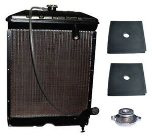 C5nn8005ab Radiator With Pads Cap Fits Ford Tractor Naa Jubilee 600 2000 4000