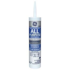Ge Ge012a Silicone All Purpose Clear Sealant Caulk 10 1oz Waterproof Crack proof
