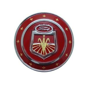 Red Hood Emblem Naa16600c 311231 For Ford New Holland Tractor Nh Naa