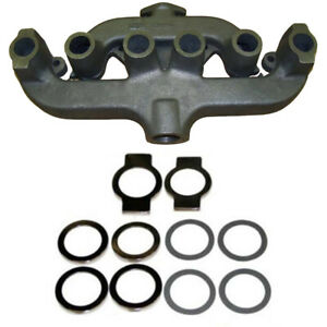 229416 70229416 Exhaust Manifold W Gaskets Fits Allis Chalmers Wc Wd Wd 45 D17