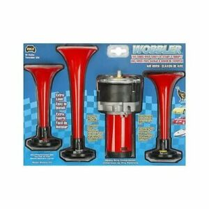 Wolo Manufacturing Horn Air Horn Wobbler Low Mid High Tones 12 V 120 Db Kit