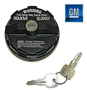 88 97 Chevy Gmc Full Size Truck Locking Vented Gas Fuel Filler Cap New Gm 147
