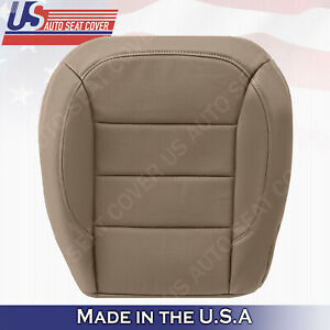 For Mercedes benz Ml350 Tan Driver Bottom Perf Leather Cover 2012 13 2014 2015