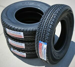 4 New Transeagle St Radial Ii St 235 80r16 Load F 12 Ply Heavy Duty Trailer Tire