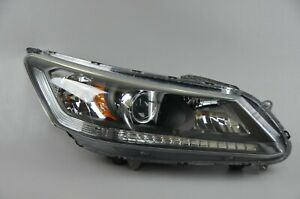 2013 2015 Honda Accord Sedan Right Side Rh Halogen Headlight Oem 13 14 15