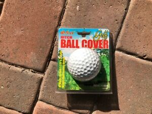 2 Golf Ball Trailer Towing Hitch Receiver Cover