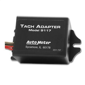 Autometer 9117 Tachometer Adapter Tach To Be Used On Distributorless Ignition