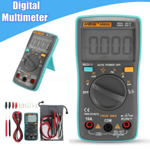 Accuracy Digital Lcd Multimeter Ampere Meter Dc Ac Voltage Auto Tester Us