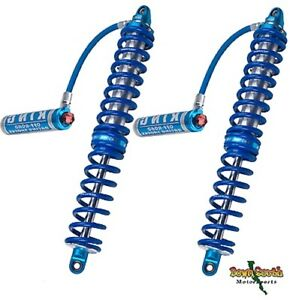 King Shocks 2 5 Coil Overs In 16 Travel With Adjusters Springs Pr2516 Cohrs A