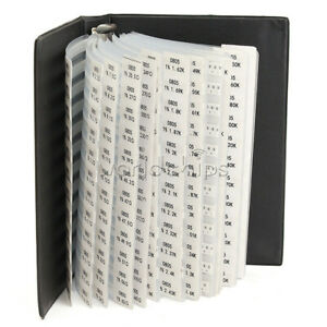 Durable 0805 Smd Resistor And Capacitor Sample Book Full Version