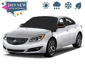 Car Windshield Snow Cover Extra Large Waterproof Universal Windshield Snow Ice