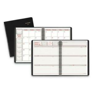 At a glance 70 650 05 Weekly monthly Appointment Book 6 7 8 X 8 3 4 Black
