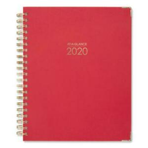 At a glance 609990559 Harmony Weekly monthly Hardcover Planner 8 1 2 X 11