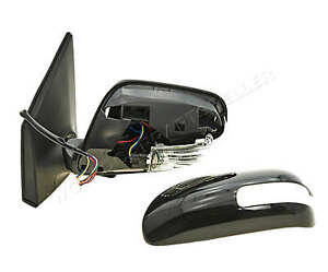 Toyota Corolla 2010 2013 Electric Side Mirror Folding With Side Lamp Convex Left