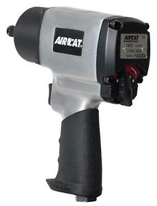 Aircat 1450 Impact Wrench Air Tool 1 2 In Twin Hammer Aluminum Each