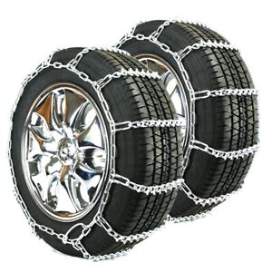 Titan Passenger V bar Link Tire Chains Ice snow Covered Roads 5mm 205 60 16