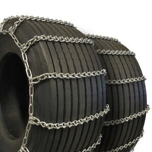 Titan Truck Tire Chains V bar On Road Ice snow 7mm 285 70 16