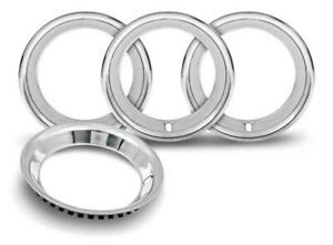 Oer Tr3125 15 Stainless Round Lip Trim Ring 2 5 Deep Repo Rally Wheel Only